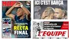 Las portadas del lunes: Recta final por Mbappé y un recado culé al PSG