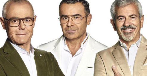 Jordi González, Jorge Javier Vázquez y Carlos Sobera /