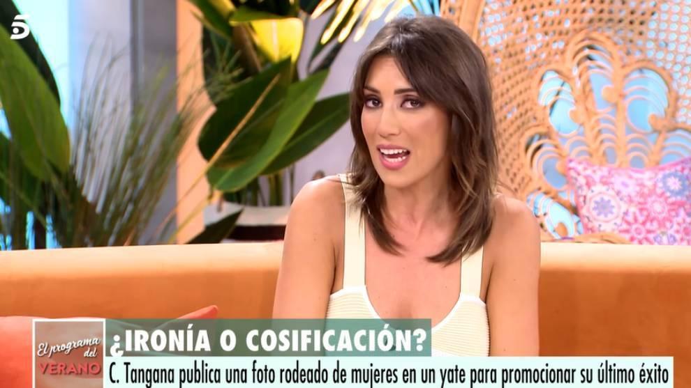 Patricia Pardo, presentadora de 'El programa del verano' de Telecinco /