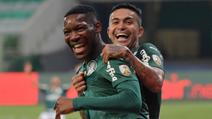 Palmeiras es semifinalista de la Copa Libertadores