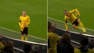 El increíble gesto de Haaland que aplauden en Alemania: pierde la Supercopa, salta tres vallas...