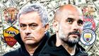 Mourinho y Guardiola.