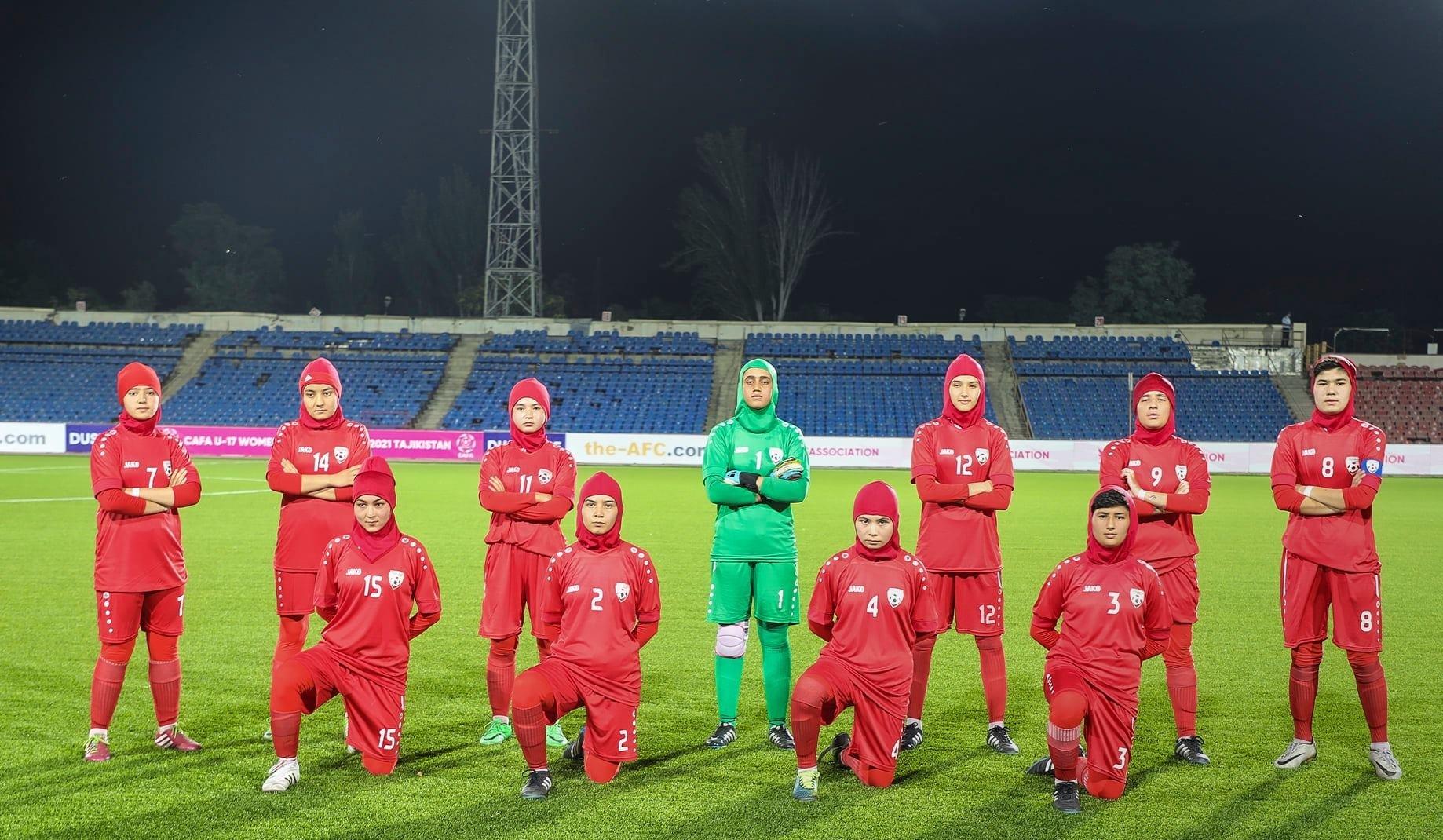La selección afgana sub 20 en el pasado torneo sub 20 de Asia Central