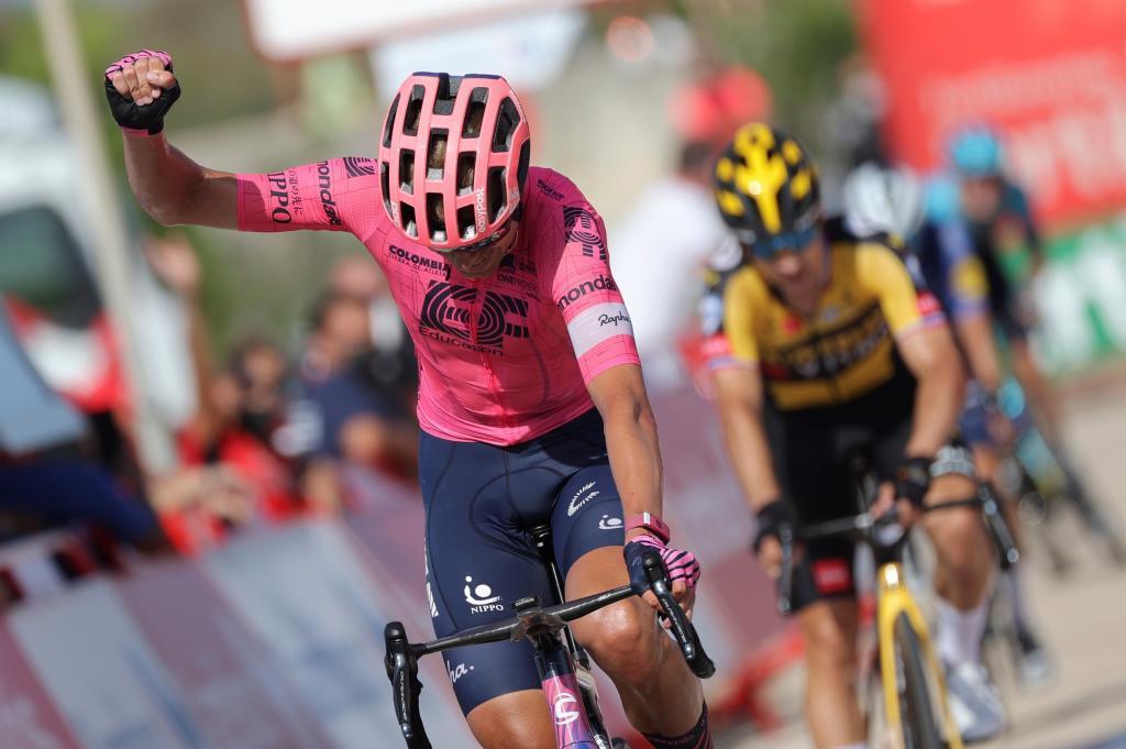 Cort Nielsen gana la etapa