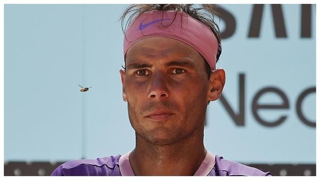Rafa Nadal, en el Mutua Madrid Open de Tenis