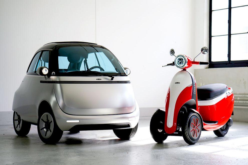 Microlino 2.0 - Microleta - Isetta - coche eléctrico - scooter eléctrico - 12,000 euros