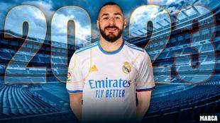 Benzema 2023... y a por Raúl