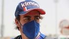 Alonso en Bahrein 2021