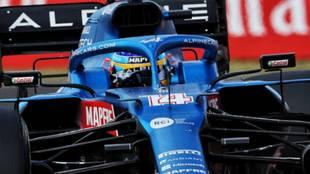 Histórico show de Fernando Alonso con un Alpine F1 en Le Mans