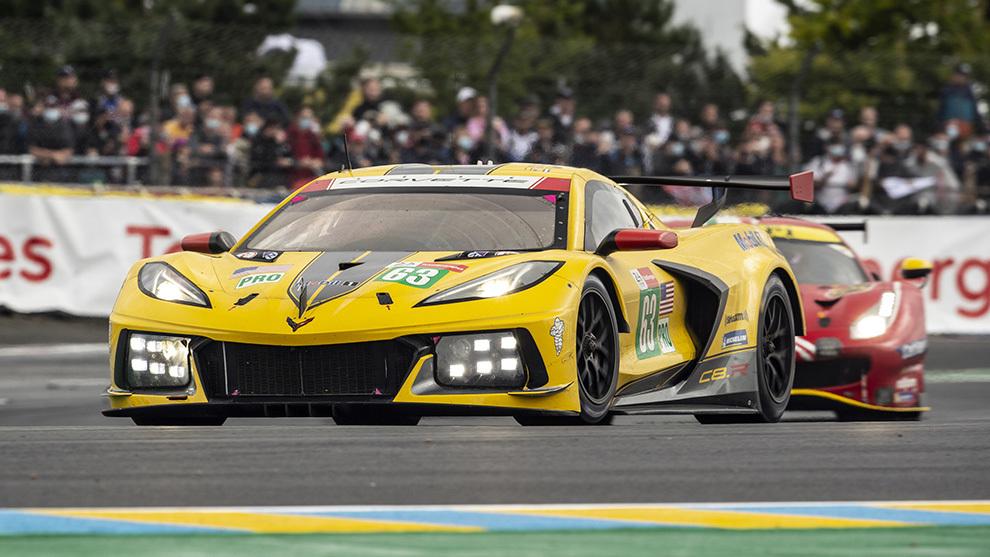 Antonio García luchó lo indecible, pero el Ferrari fue mucho Ferrari.