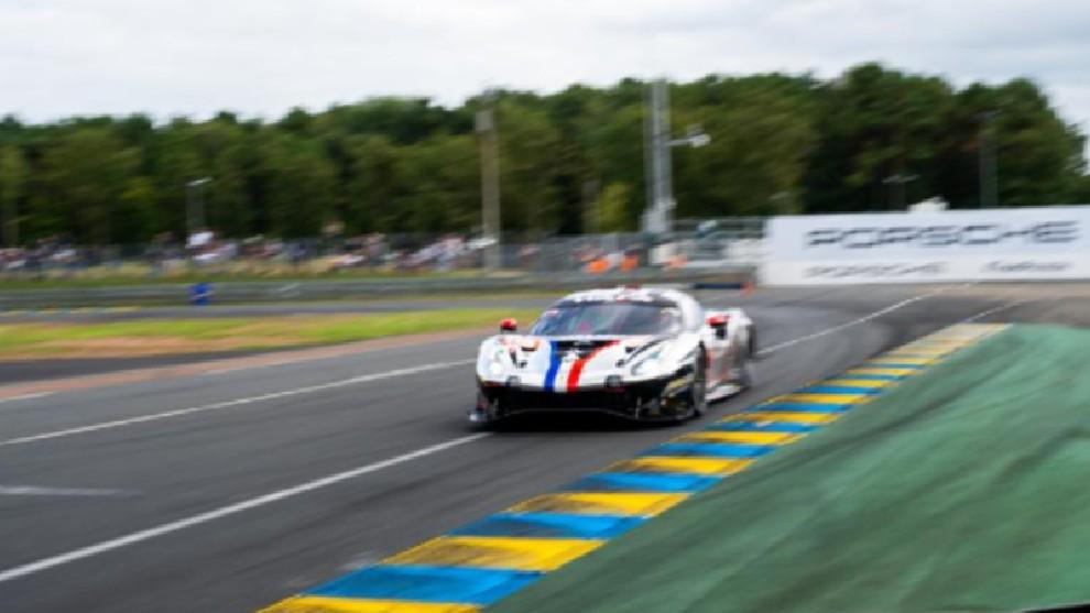 El Ferrari ganador de GTE Am.