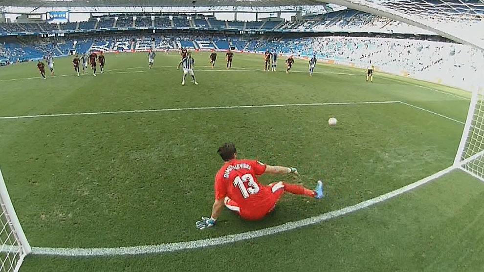 Marca Oyarzabal de penalti
