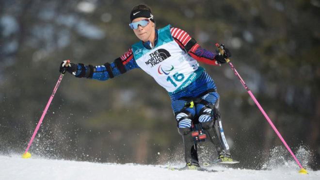 Okasana Masters, plata en esquí nórdico en Pyeongchang 2018.