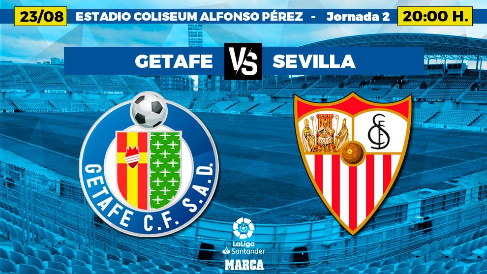Getafe vs Sevilla Highlights 23 August 2021