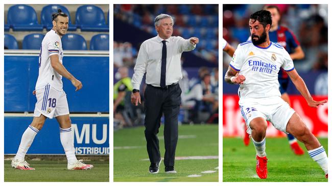 Ancelotti suma a los sentenciados de Zidane