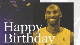 23 de agosto 2021: Kobe Bryant cumpliría 43 años.