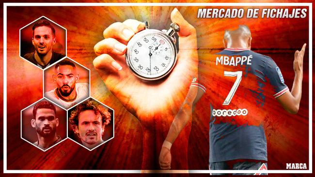 Mbappé, Cunha, Sarabia... protagonistas a falta de una semana para el...