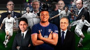 Mbappé-Florentino: un escenario inédito