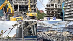 Así avanzan las obras del Bernabéu pensando en el 11-S: ¿estará Mbappé?