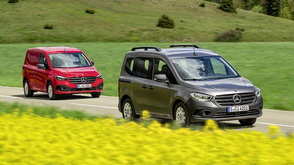 Mercedes-Benz Citan - Citan Furgon - Citan Tourer - furgoneta - vehículo comercial - Kangoo