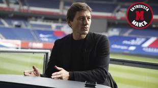 Leonardo, en una entrevista con el PSG