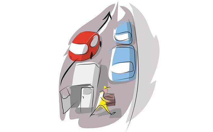 DGT - adelantamientos - adelantamientos permitidos en prohibido - tráfico