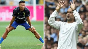 Un '9' como Cristiano, un reto para Guardiola
