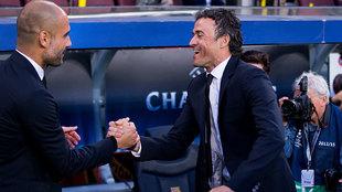 """Luis Enrique: """"Me encantaría que Guardiola fuera el seleccionador"""""""