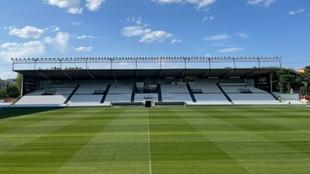 Vista del estadio de El Plantío