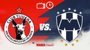 Xolos vs Monterrey: Horario y dónde ver.