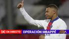 Kylian llega a la Ciudad Deportiva del PSG