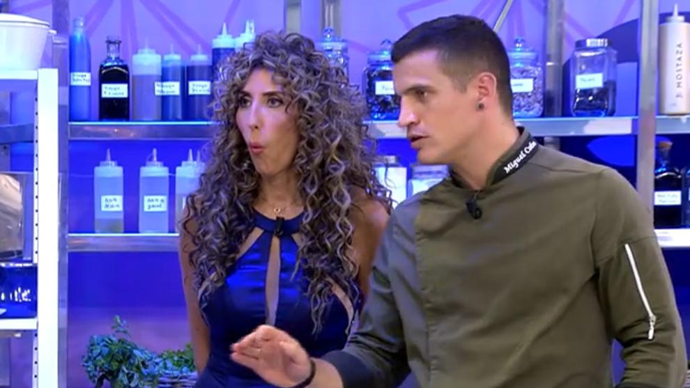 Ultima cena - Paz Padilla - chef Miguel Cobos - Lydia Lozano