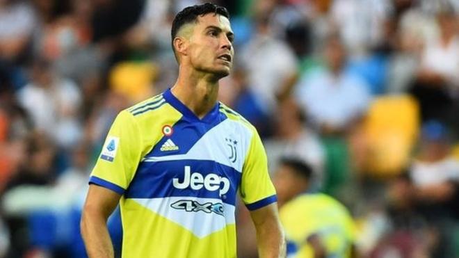 Cristiano en un partido de esta temporada con la Juventus.