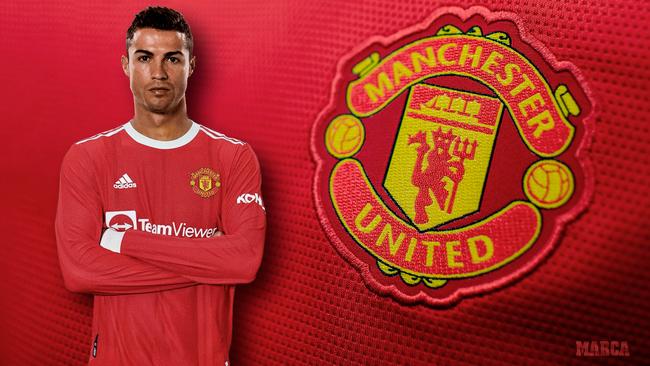 Oficial: Cristiano Ronaldo vuelve al Manchester United
