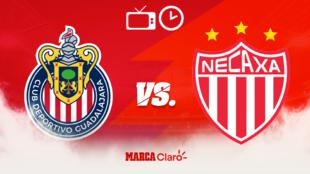 Chivas vs Necaxa: Horario y dónde ver en vivo.