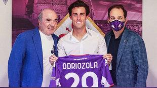 Oficial: Odriozola, a la Fiorentina
