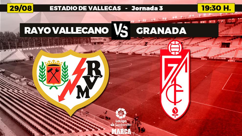 Rayo Vallecano - Granada en directo