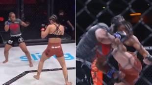 El brutal KO que asusta al mundo de las MMA: el árbitro estaba lejos...