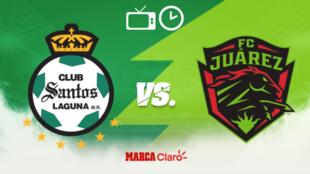 Santos Laguna vs FC Juárez: Horario y dónde ver