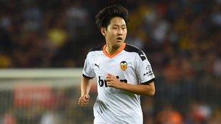 El Valencia anuncia la salida de Kang In Lee