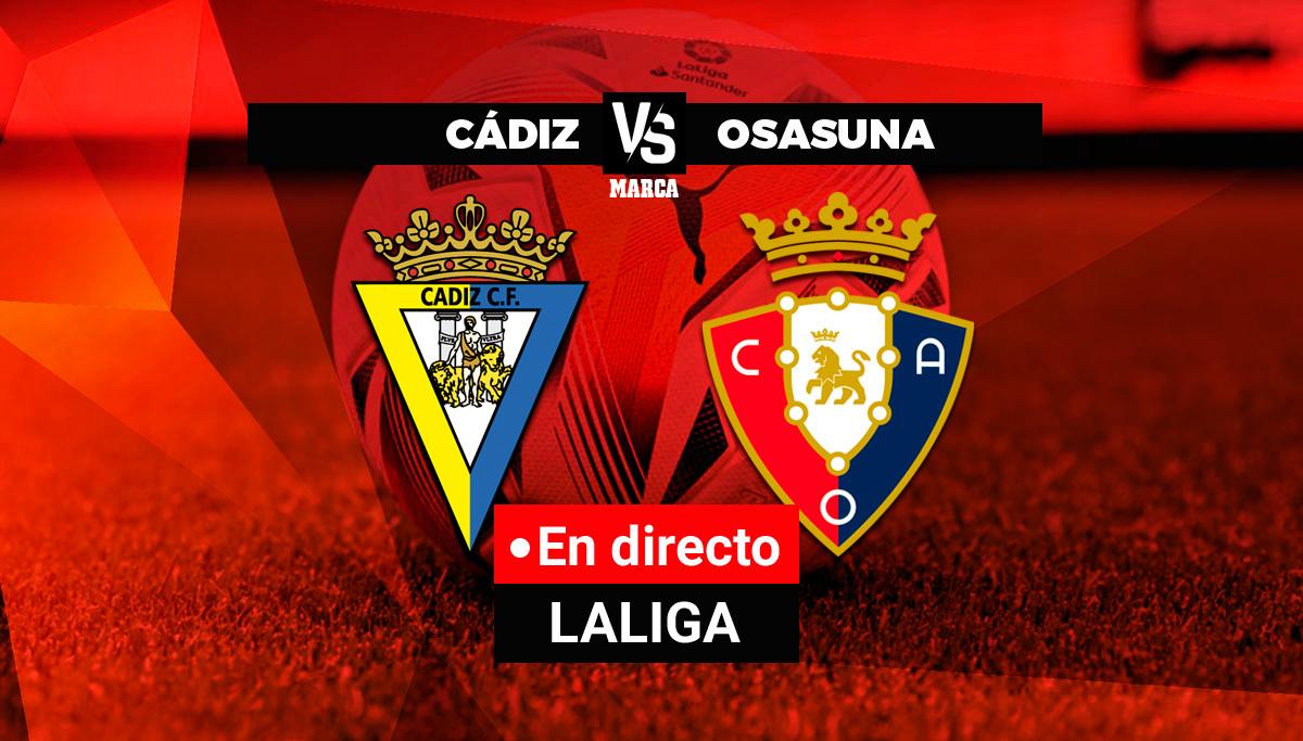 Cádiz - Osasuna en directo
