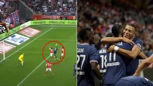 ¿El último show en el PSG? Genialidad de Mbappé... y efusiva celebración