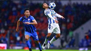 Cruz Azul y Pachuca dividen puntos en el Azteca.