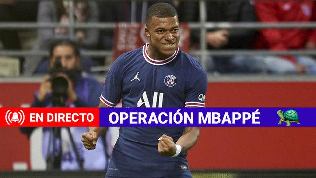 """Mbappé: """"Estoy tranquilo"""""""