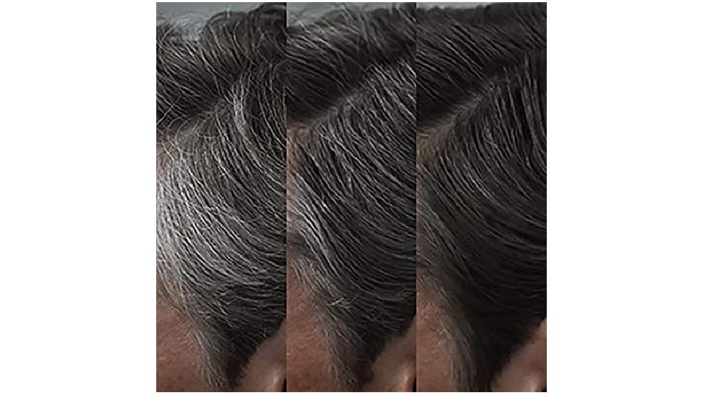 Evolución semanal del color del cabello con el uso de Control GX