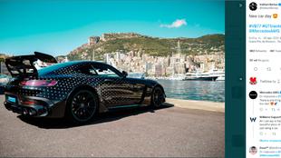 Valtteri Bottas - Mercedes - Formula 1 - AMG GT Black Series -...