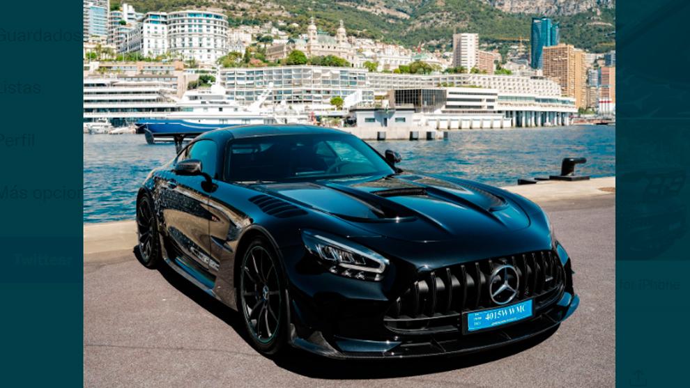 Valtteri Bottas - Mercedes - Formula 1 - AMG GT Black Series - cumpleaños - coches deportivos