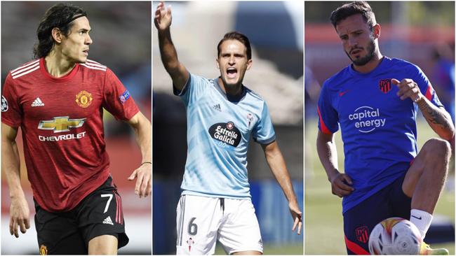 Cavani y el 9' del Barça, el Milan quiere a Denis, Saúl...