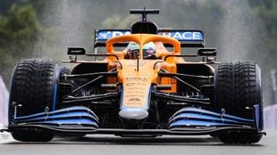 Ricciardo en el GP de Bélgica 2021