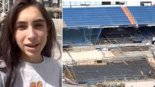 Los avances de las obras del Santiago Bernabéu: así luce ya el interior